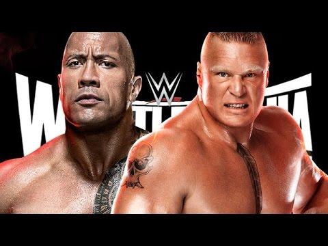 Xxx Mp4 ¿Brock Lesnar VS The Rock En El Main Event De Wrestlemania 31 3gp Sex