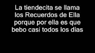 Los Recuerdos de Ella - Diomedes Diaz (letra).wmv