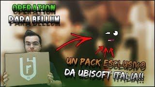 UN PACK ESCLUSIVO DA UBISOFT ITALIA!! - OPERATION PARA BELLUM | Pack Rainbow Six: Siege