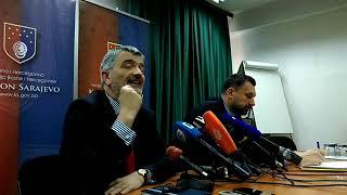 Faktor.ba/Elmedin Konaković i Srđan Mandić - konferencija za medije, 23.05.2019.
