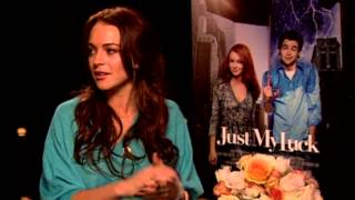 Just My Luck: Lindsay Lohan Interview