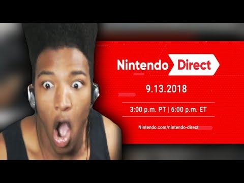 ETIKA REACTS TO NINTENDO DIRECT 9.13.2018 TIMESTAMPS