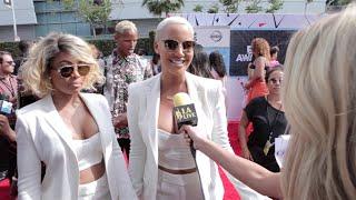 Amber Rose, Karrueche Tran, Blac Chyna : BET Awards 2015 Red Carpet Fun Fashion