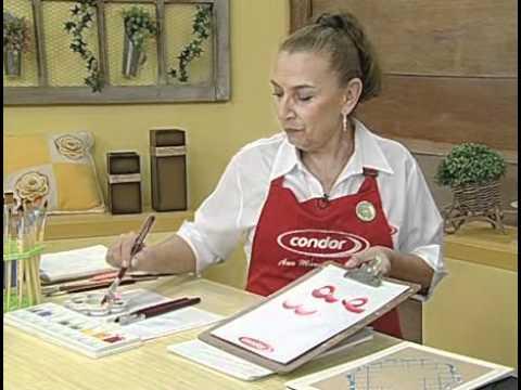 ARTE BRASIL ANA MARIA GUIMARÃES MARATONA DE PINCELADAS 28 09 2010 Parte 1 de 2
