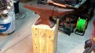ANVIL STAND Super strong, organic, and no welding!