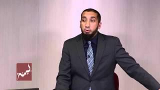 Nouman Ali Khan hidayet için önkoşul ''Fıtrat''