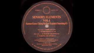 Sensory Elements(vol. 1)  - Something 4 U, Azuli Records 1992