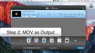 How to Convert 3GP to MOV on Mac- iMedia Converter Deluxe