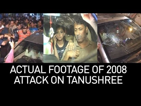 Xxx Mp4 Actual 2008 Footage Of How Tanushree Dutta Was Attacked When She Walked Out Of Nana Patekar Song 3gp Sex