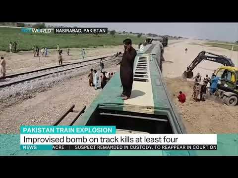 Xxx Mp4 Four Killed In Train Blast In Pakistan 39 S Baluchistan 3gp Sex