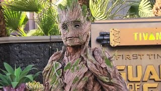 NEW Full-size Groot character meet-and-greet debuts at Disneyland from