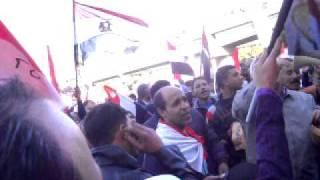 متظاهري العباسية في 23 ديسمير جمعة لا للتخريب