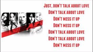 G.R.L. - Don't talk about love (Lyrics)