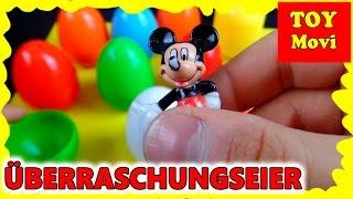 Micky Maus Wunderhaus Deutsch 2017 Überraschungseier Surprise Eggs Minnie Maus