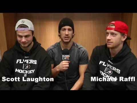 Stall Talk with Del Zotto sitts down with Raffl and Laughton