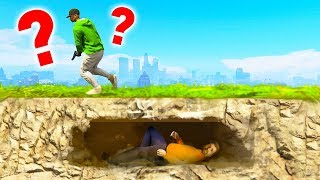 IMPOSSIBLE HIDING SPOTS in GTA 5! (GTA 5 Hide & Seek)
