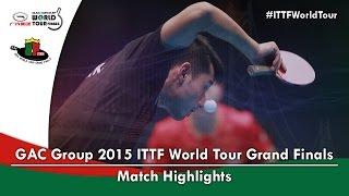2015 World Tour Grand Finals Highlights: MA Long vs ZHANG Jike (1/2)