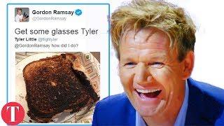 10 Times Gordon Ramsay Was SAVAGE In Mean Tweets *Hilarious*