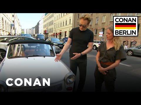 Conan Drives A Rickety East German Trabant CONAN on TBS