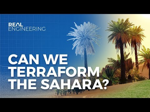 Can We Terraform the Sahara to Stop Climate Change