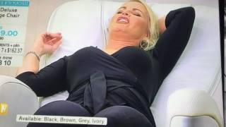 Massage chair orgasm
