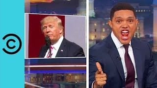 Trump Attacks Protesting NFL Players | The Daily Show | Comedy Central