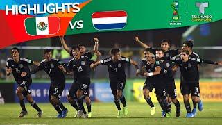 México vs. Países Bajos: 4-3 Goals & Highlights | Copa Mundial Sub-17 | Telemundo Deportes