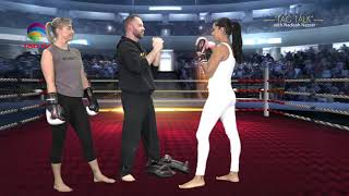 Boxing is therapeutic @TAGTALK with Nadirah Nazeer