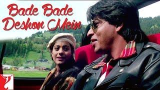 Bade Bade Deshon Mein - Dialogue   Shah Rukh Khan   Kajol