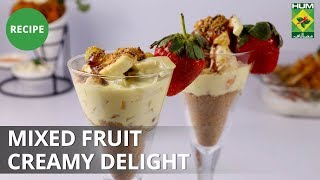 Mixed Fruit Creamy Delight | Lively Weekends | Masala TV Show