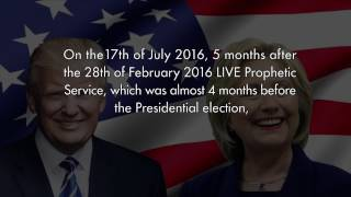 Uebert Angel - 2016 US Presidential Election Prophecy Fulfilled