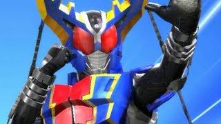 【ガンバライジング】LR 仮面ライダーガタック ハイパーフォーム ハイパーライダーキック