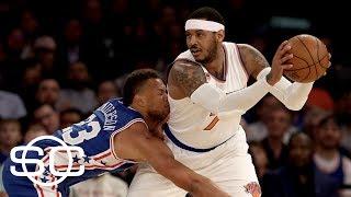 Rockets Pursuing Carmelo Anthony and Andre Iguodala | SportsCenter | ESPN