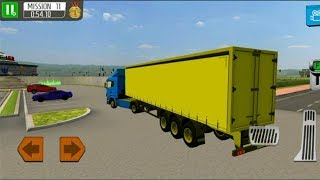DELIVERY TRUCK DRIVER SIMULATOR FREE GAMES #001 - Truck Driving Simulator Games  #q | Games Download