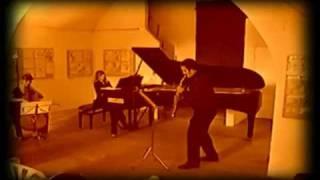 VIVALDI LE QUATTRO STAGIONI by Marino Baratello for soprano saxophone  piano and violoncello