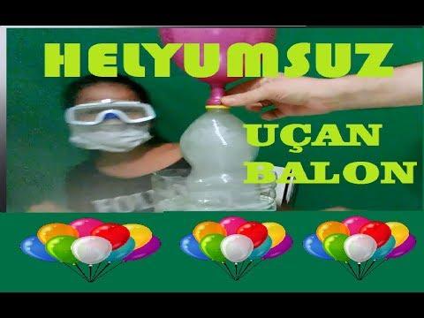 HELYUMSUZ ; Evde Uçan Balon Nasıl Yapılır ? Biz Yaptık veee Uçtu  :)))air balloon)))