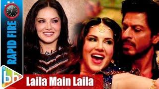 Sunny Leones Witty Rapid Fire On Shah Rukh Khan  Laila Main Laila  Raees