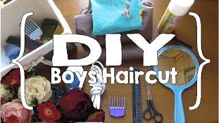 DIY Boys Haircut (Large Family)