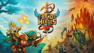Band of Heroes Android GamePlay Trailer (HD) [Game For Kids]
