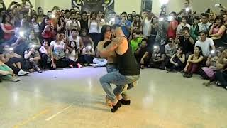 Sexy dance moves of this beautiful couple. See