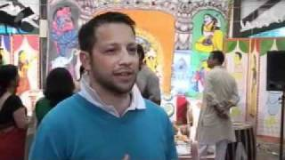Durga Puja coverage by  Swiss Naional TV (SF1)