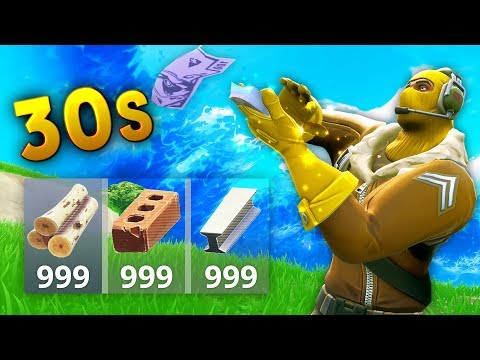 FULL MATERIALS IN 30 SECONDS Fortnite Funny and Best Moments Ep.60 Fortnite Battle Royale