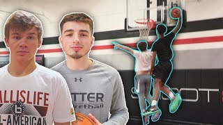 JESSER VS HIGH SCHOOL BASKETBALL ALL AMERICANS ft Mac McClung, Jordan McCabe, Shareef O