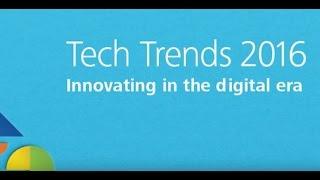 Deloitte Tech Trends 2016