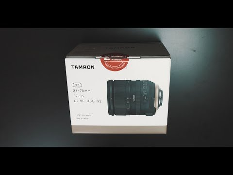 Tamron 24-70mm f2.8 G2 Lens Unboxing & First Impression