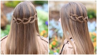 Loop Waterfall Braid | Cute Hairstyles