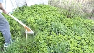Angle Grinder Grass Trimmer DIY