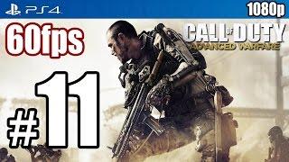 Call of Duty Advanced Warfare (PS4) Walkthrough PART 11 60fps [1080p] Lets Play TRUE-HD QUALITY