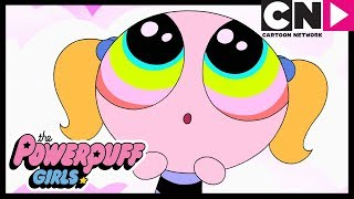 Powerpuff Girls | Blossom and Bubbles Learn How To Party! | Cartoon Network