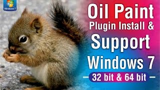 Oil Paint plugin install in Photoshop cc  & Support windows 7 - 32 bit & 64 bit By Graphics Solution